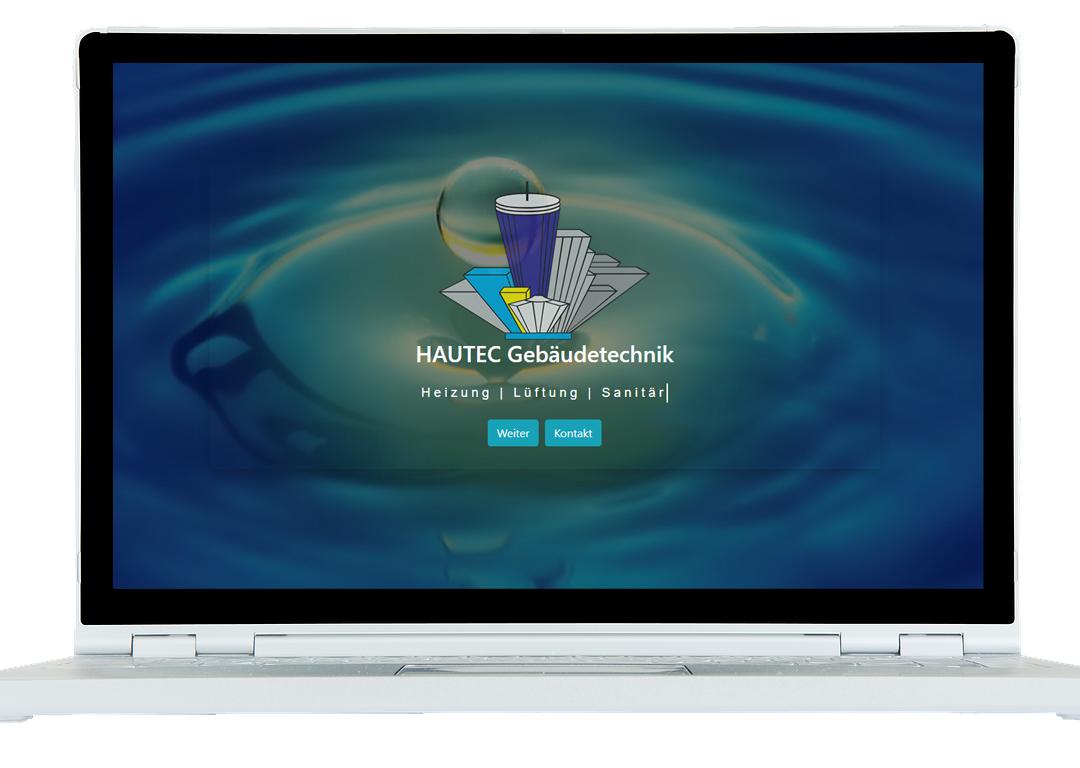 HAUTEC Gebäudetechnik Website